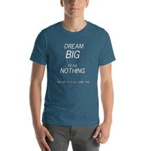 Dream Big Fear Nothing mock up